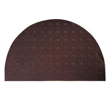POLY LATEX DOORMAT CARV BROWN 50X80CM