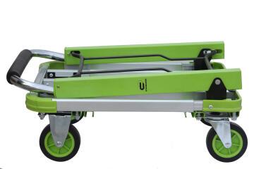 Foldable handtruck aluminium steel STANDERS 150kg