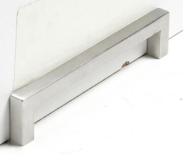 SQUARE SS INSPR 128MM BRUSHED NICKEL