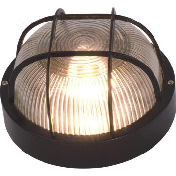 ROUND BULKHEAD LAMP E27 MAX60W PLASTIC B