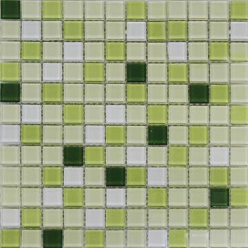 MOSAIC GLASS SHAKER GREEN ARTN 300X300MM