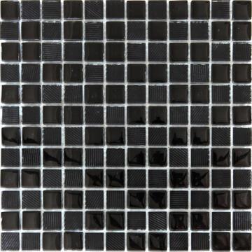 MOSAIC GLASS TEXTURED WHI ARTN 300X300MM