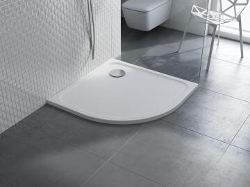 Shower tray quandrant resin mila 1/4C90