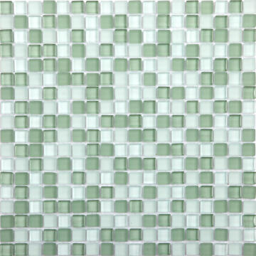 MOSAIC GLASS TONIC GREEN ARTN 300X300MM