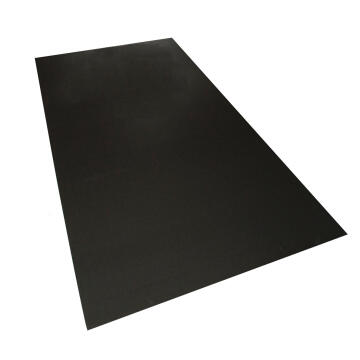 Synthetic Glass Polypropylene Hollow Core Black 3mm thick-2000x1000mm