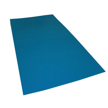 Synthetic Glass Polypropylene Hollow Core Blue 3mm thick-2000x1000mm