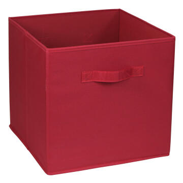 POLYESTER BASKET 31X31X31 RED