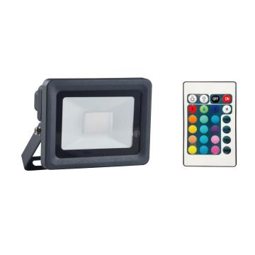 LED FLOODLIGHT W/REMOTE CONTROL RGB LED