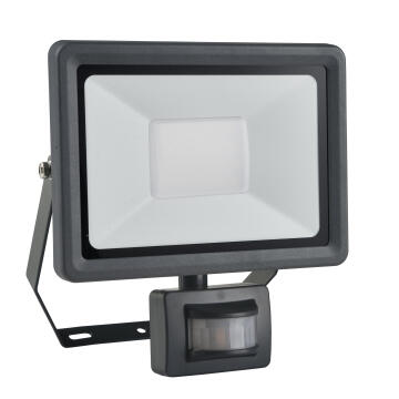 LED FLOODLIGHT W/SENSOR SMD LED 30W,225