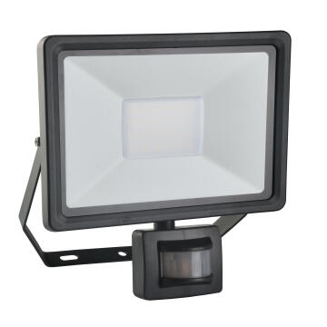 LED FLOODLIGHT W/SENSOR SMD LED 50W,375