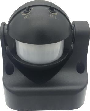 Motion sensor outdoor black