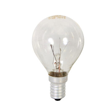 OVENLAMP GOLFBALL E14 25W CLEAR