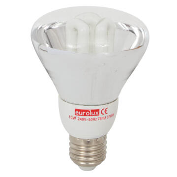 REFLECTOR CFL R80 10W E27 B/PACK