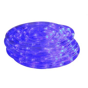 ROPE LIGHT 10M LED BLUE 8 FUNCT CONTROL