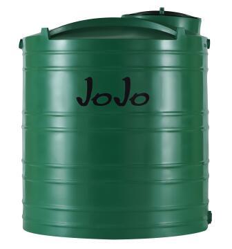 1000Lt Vertical Water Tank Jojo Green