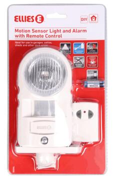 Stand alone alarm light sensor & remote controle ELLIES