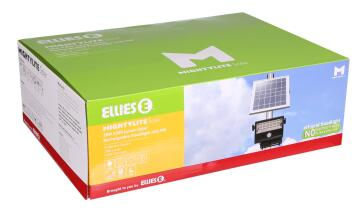 Solar Kit 1 spot LED 2300 lumens 1 solar panel 28w ELLIES
