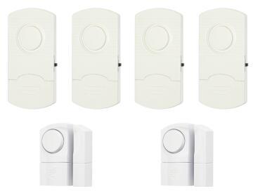 Window / door sensor stand alone alarm ELLIES x4