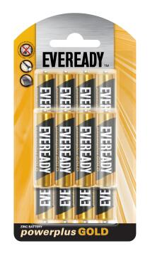 Battery zinc carbon EVEREADY AA / LR6 x12