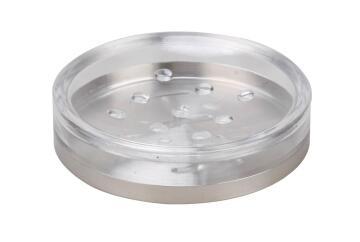 Sopa dish transparent and brushed ss SENSEA Loft