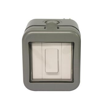 Waterproof switch 2 levers 1 way IP55 STINGRAY
