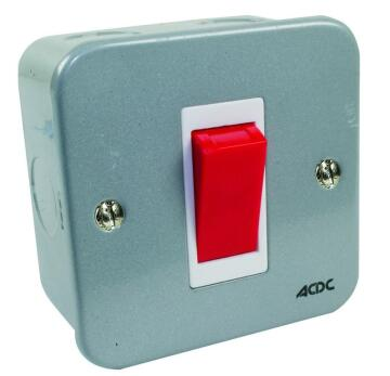 Wall mounted isolator 45A