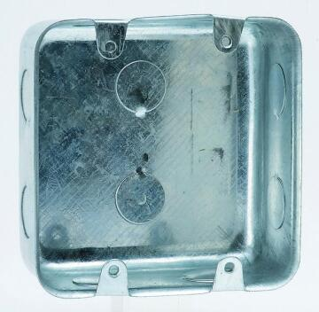 Wall box 100x100mm galvanized