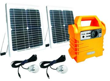 Solar Kit 2x10w panels 2x3w LED