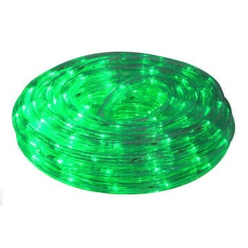 ROPE LIGHT 10M LED GREEN 8 FUNCT CONTROL