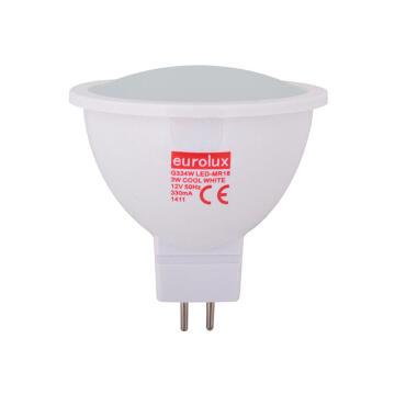 LED MR16 3W COOL WHITE 12V
