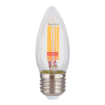 LED E27 4W FIL CANDLE 3000K