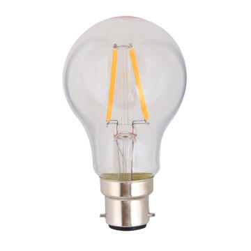 LED B22 4W FILAMENT A60 3000K