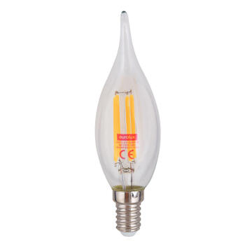 LED E14 4W FLAME CANDLE 3000K