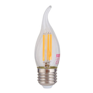 LED 4W FLAME CANDLE E27 3000K