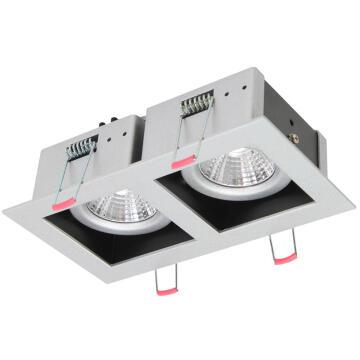 XIN LED D/LIGHT SQUARE 2 X 6.5W 4000K