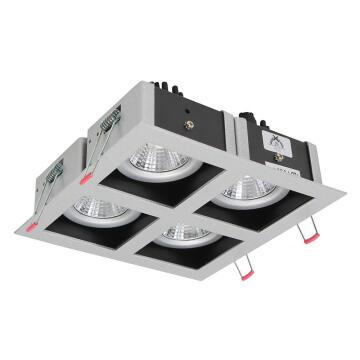 XIN LED D/LIGHT SQUARE 4 X 6.5W 4000K