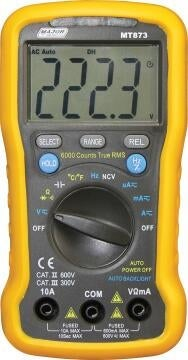 Multimeter automatic MAJOR TECH