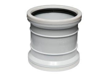 Double socket MARLEY 110mm pvc