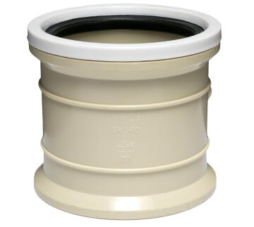 PVC Underground Double Socket 110mm