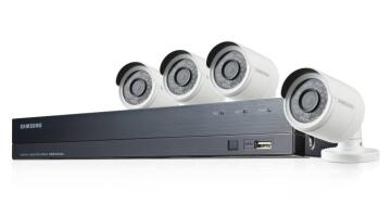 Camera kit CCTV 4 cameras - 8 chanels SAMSUNG 1080 pixels