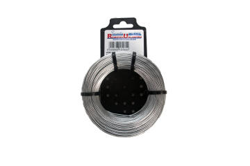 Alarm wire braided aluminium 1.1mm 100m