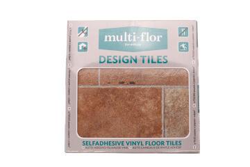 Vinyl Floor Tile Self-Adhesive Design Tile 3804 30.5X30.5cm (0.83m2)