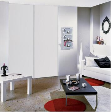 Wardrobe sliding door allure white H250cm x W91cm