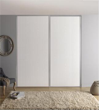 Wardrobe sliding door allure white H250cm x W92cm
