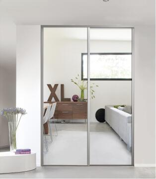 Wardrobe sliding door allure mirror H250cm x W92cm