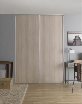 Wardrobe sliding door allure cream accacia H250cm x W62cm