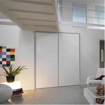 Wardrobe sliding door allure -gloss white H250cm x W62cm