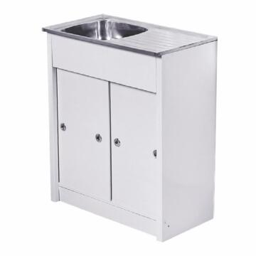 Kitchen sink 1 round bowl 1d s/o CAM ss KD 7540 / 1