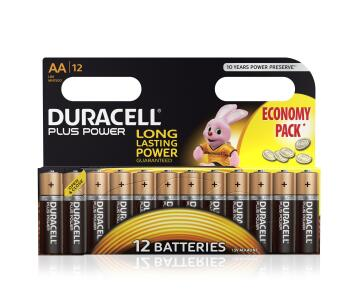 Battery alkaline DURACELL AA / LR6 x12