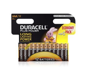 Battery alkaline DURACELL AAA / LR03 x12